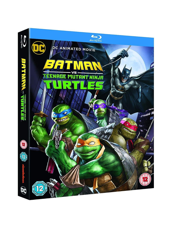 Amazon.com: Batman vs Teenage Mutant NinjaTurtles [Blu-ray ...