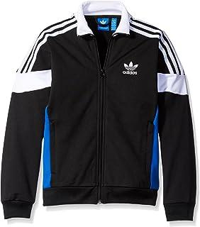 02e452c2f64d Amazon.com  adidas Originals Kids Mens Zigzag Track Jacket (Little ...