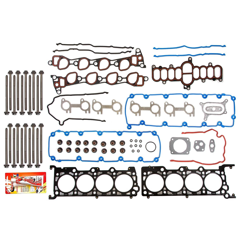 Fits 97-99 Ford V8 4.6 Vin 6 SOHC 16-Valves Head Gasket Set Head Bolts
