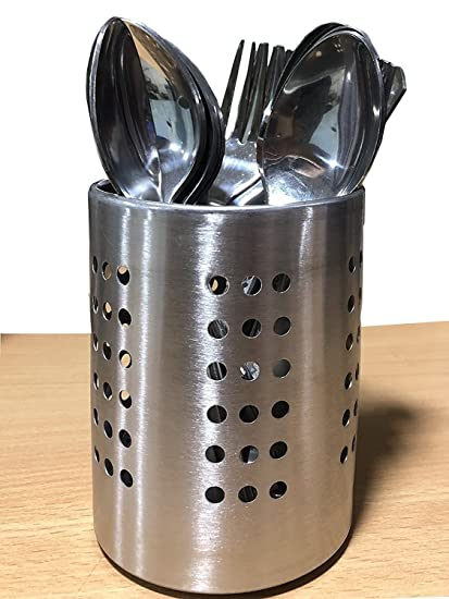 Diseño punteado de acero inoxidable - Cubiertos, Utensilios de ...