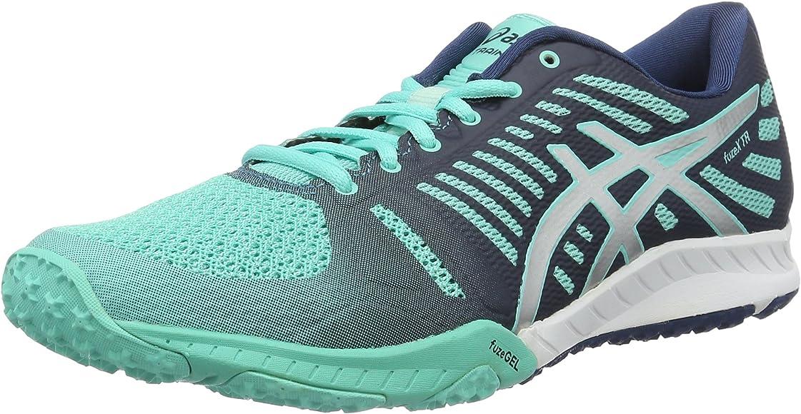 Asics fuzeX TR, Zapatillas de Running para Mujer, Turquesa (türkis ...