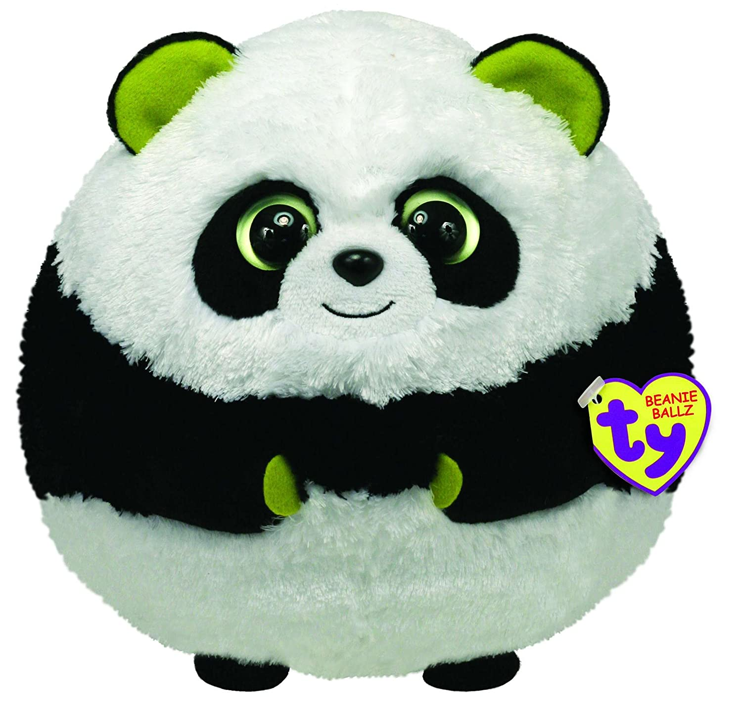 82723f8cd8a Amazon.com  Ty Beanie Ballz Bonsai The Panda (Large)  Toys   Games