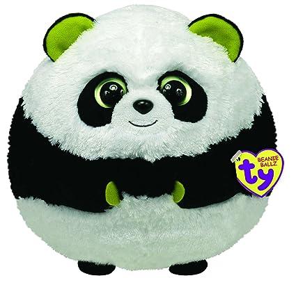 fafa8926473 Amazon.com  Ty Beanie Ballz Bonsai The Panda (Large)  Toys   Games