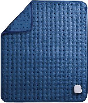 MaxKare Almohadilla Eléctrica Térmica de Grande Tamaño de (50 x 60cm) con Función de Apagado Automático 5 Grados de Calefacción Terapéuticos Franela Suave Alivio Muscular para Espalda Cuello Hombro: Amazon.es: Salud y