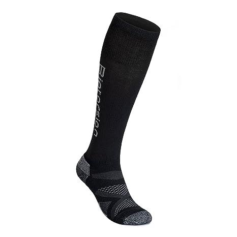 Biotorsion - Calcetines de Esquiar de Lana Merino para Hombres (S)