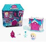 Disney Doorables Mini Playset Elsa's Frozen Castle, Multi-Color