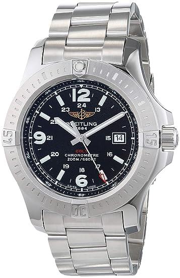 Breitling Colt Herren-Armbanduhr analógico, Cuarzo, Acero Inoxidable a7438811/BD45/173A: Amazon.es: Relojes