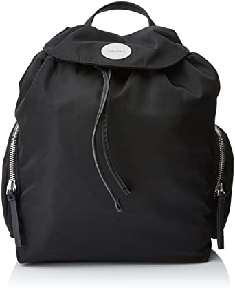 727ccc39207 Calvin Klein Women's Edith Backpack, 001, Os Bag, (Black), 16x29x35 ...