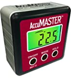 Calculated Industries 7434 AccuMASTER 2-in 1 Magnetic Digital Level and Angle Finder / Inclinometer / Bevel Gauge, Latest MEMs Technology, Certified IP54 Dust and Water Resistant