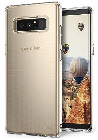 Ringke Air Compatible con Funda Samsung Galaxy Note 8, Ligera como el Aire, Carcasa Protectora Resistente a los arañazos de TPU Transparente Ligera y ...