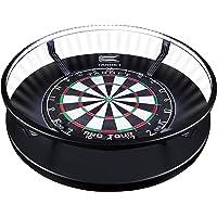 Target Darts Corona Vision Dartboard-verlichtingssysteem Dartboardkasten & kabinet, zwart, met wit ledlicht
