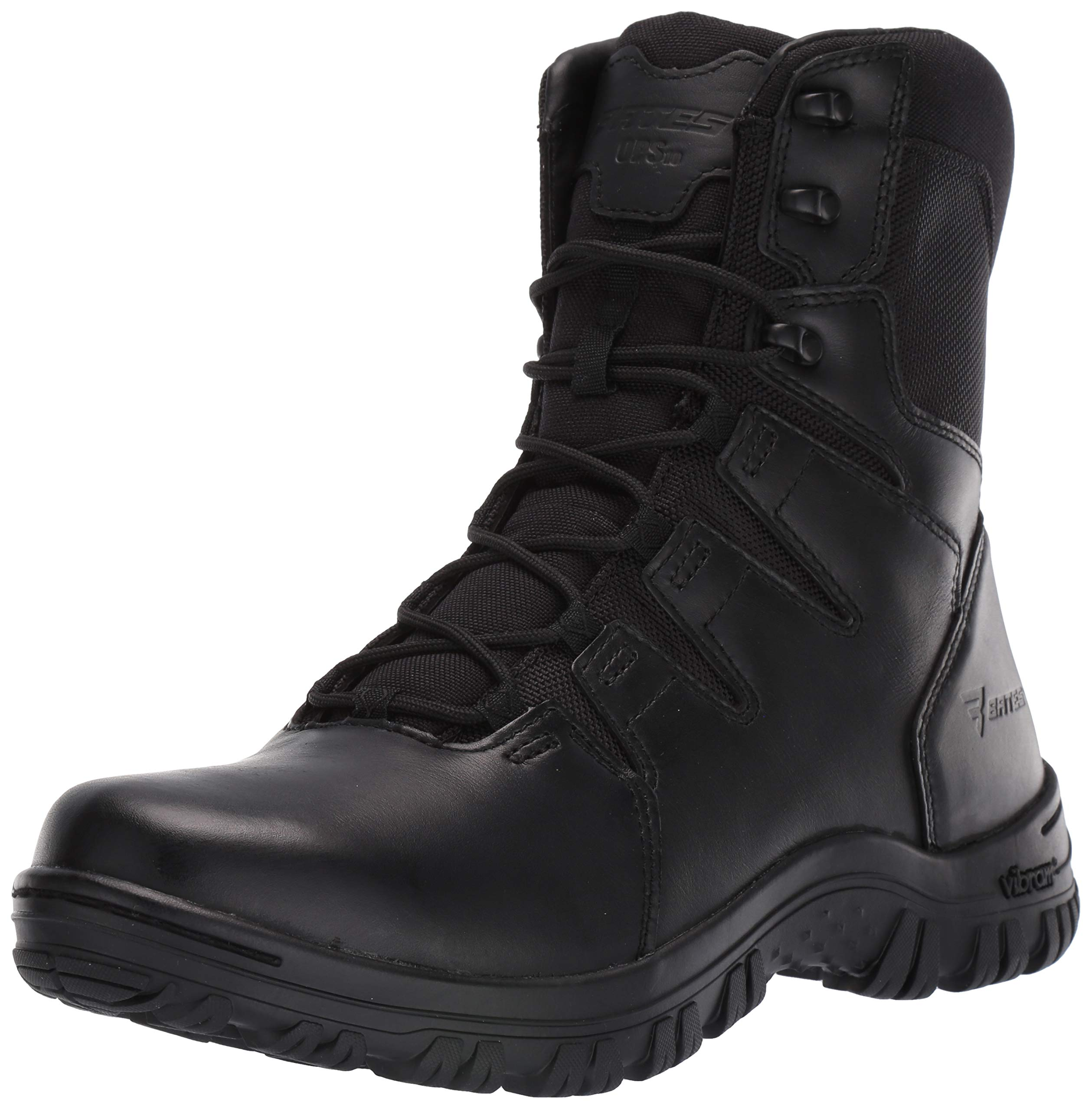 Bates Men's Maneuver Side Zip Fire and Safety Boot, Black, 11.5 Extra Wide US by Bates
