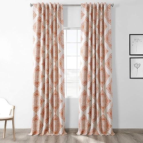 HPD Half Price Drapes BOCH-KC27-120 Blackout Room Darkening Curtain 1 Panel