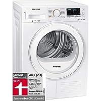 Samsung DV80M5210IW/EG Wärmepumpentrockner / 8kg / 60 cm Höhe/Kondenswasserstandsanzeige / Kurzprogramm/Alarm Mischbeladung/SmartCheck
