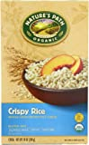 Nature's Path Organic Gluten-Free Cereal, Crispy Rice, Whole Grain Brown Rice, 10 Ounce Box (Pack of 6)