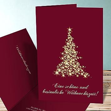 Weihnachtskarten Individuell Gestalten.Weihnachtskarten Set Mit Umschlag Online Selbst Gestalten Lichtflut 5 Karten Vertikale Klappkarte 105x148 C6 Hochformat Rot Inkl Weiße Umschläge