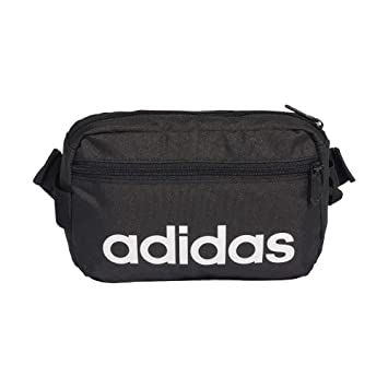 d690140c8d adidas Linear Core Sac Banane Sport, 39 cm, Black/Black/White ...