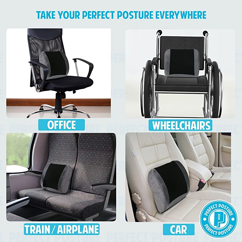 Best Lumbar Back Support Cushions For Cars And Office Chairs