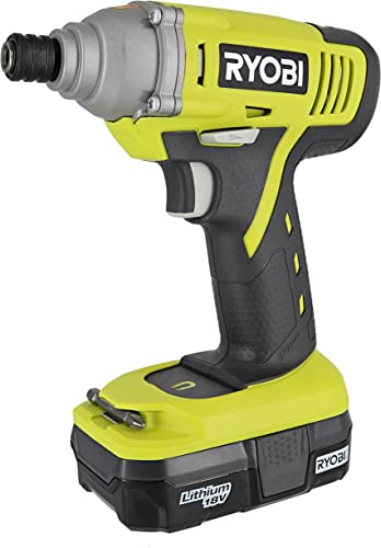 Ryobi P1870 18V Lithium Ion Battery Powered 1 4 Inch 1,500 Inch Pound Impact Driver Kit P234 Impact Driver