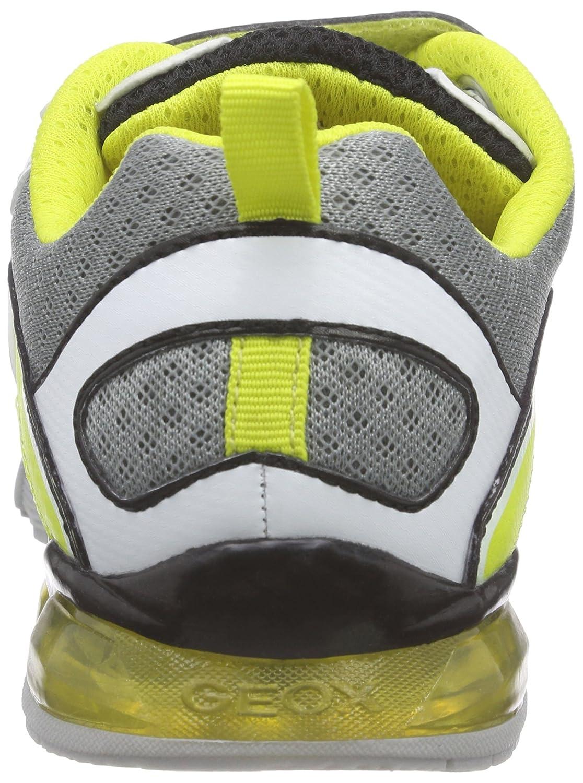 White-9K Geox J LT Eclipse B Boys Sneakers//Shoes