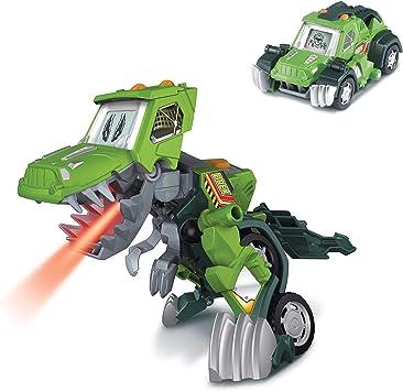 Oferta amazon: VTech- Barro, el T-Rex 4x4. Dinosaurio electrónico interactivo transformable en coche con voz, funciones, mas de 60 sonidos y frases. (3480-197222) , color/modelo surtido