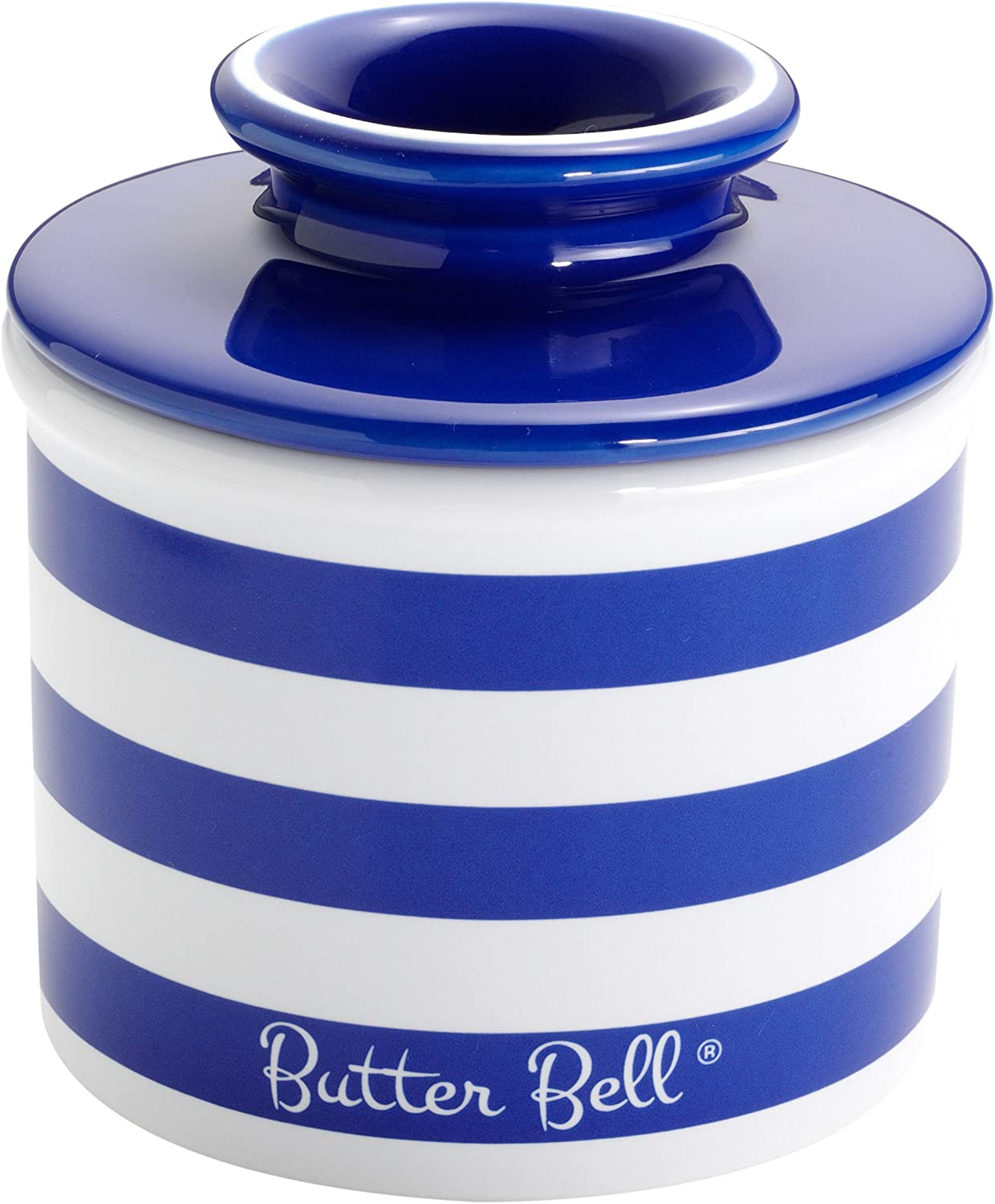 Butter Bell Royal Blue The Original Butter Bell Crock and Petit Bell Gift Set by L French Ceramic Butter Dishes Tremain