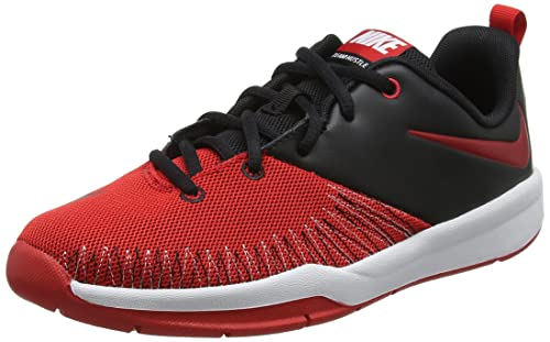 Nike Black/University Red-White, Zapatillas de Baloncesto para ...