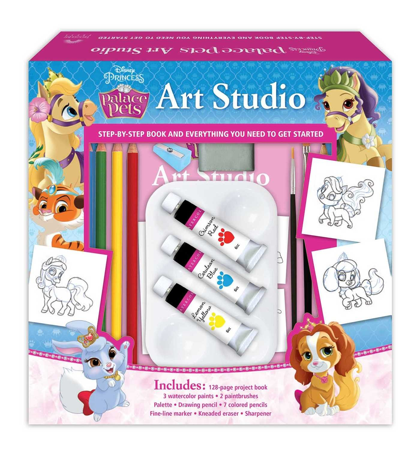 Read Online Disney Palace Pets Art Studio PDF