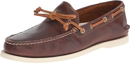 innovative design on feet shots of sleek Amazon.com: Sperry Top-Sider Men's Authentic Original One-Eye Boat ...
