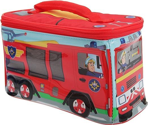 FIREMAN SAM Brotdose Kinder Lunchbox Feuerwehrmann Sam Sandwichbox ca.16x12x5 cm