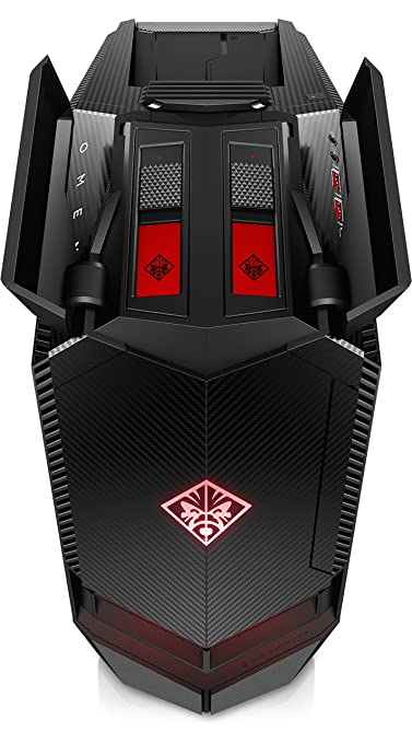 HP Omen 880-141ns - Ordenador de sobremesa (Intel Core i5-8400, 16GB RAM, 1TB HDD, Nvidia GeForce GTX 1060 6B, Windows 10) negro - Teclado QWERTY Español: ...