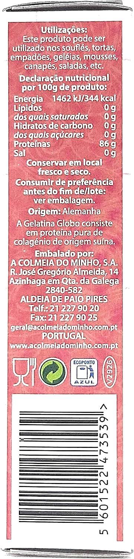 Globo - Gelatina Neutra en polvo - 70g: Amazon.es ...