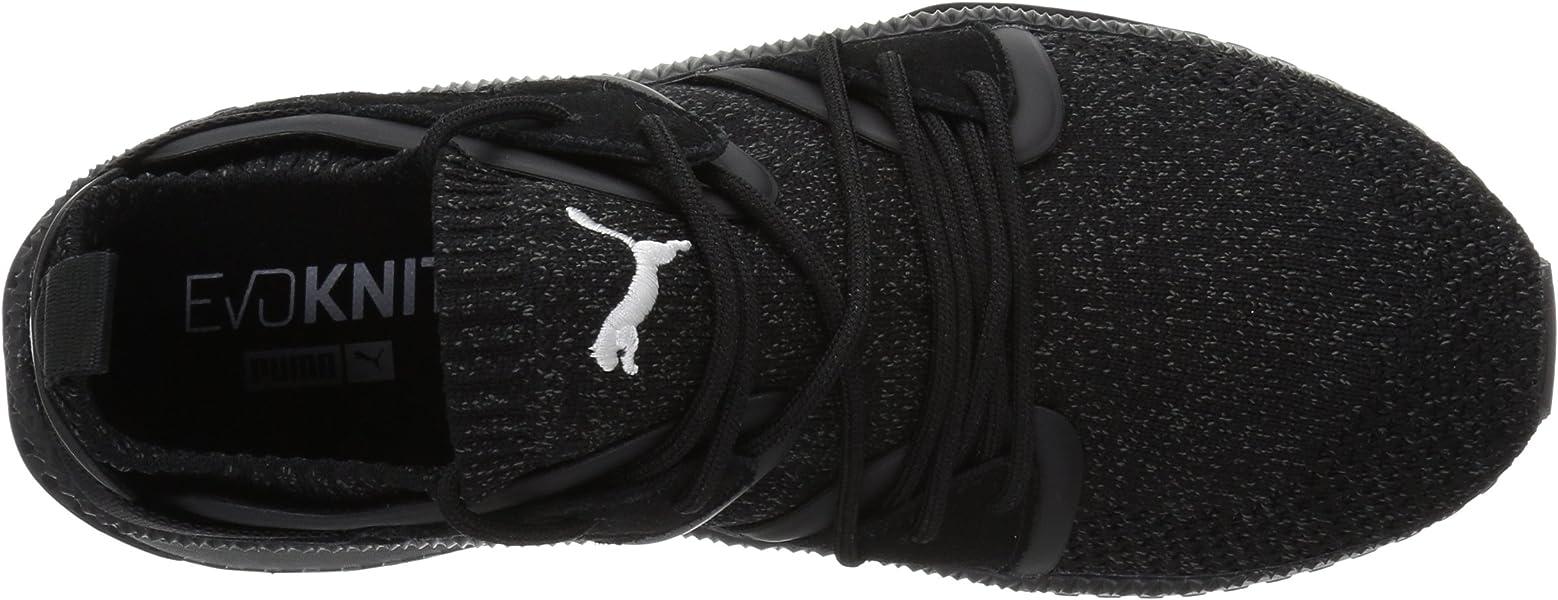 7a910cb7626154 PUMA Men s Tsugi Blaze Evoknit Sneaker Dark Shadow Black