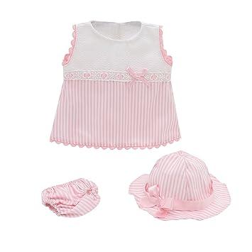 The Doll Factory Vestido Bebe muñeca Bebe reborn Baby reborn Bebes reborn -  ropa muñeca 42 f9dd75450088