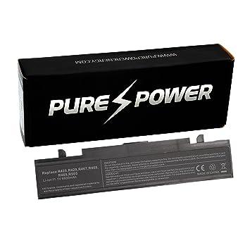 PURE⚡POWER® EXTENDED Batería del ordenador portátil para Samsung NP-R530-JT50ES (11.1V, 6600 mAh, negro, 9 celdas): Amazon.es: Electrónica