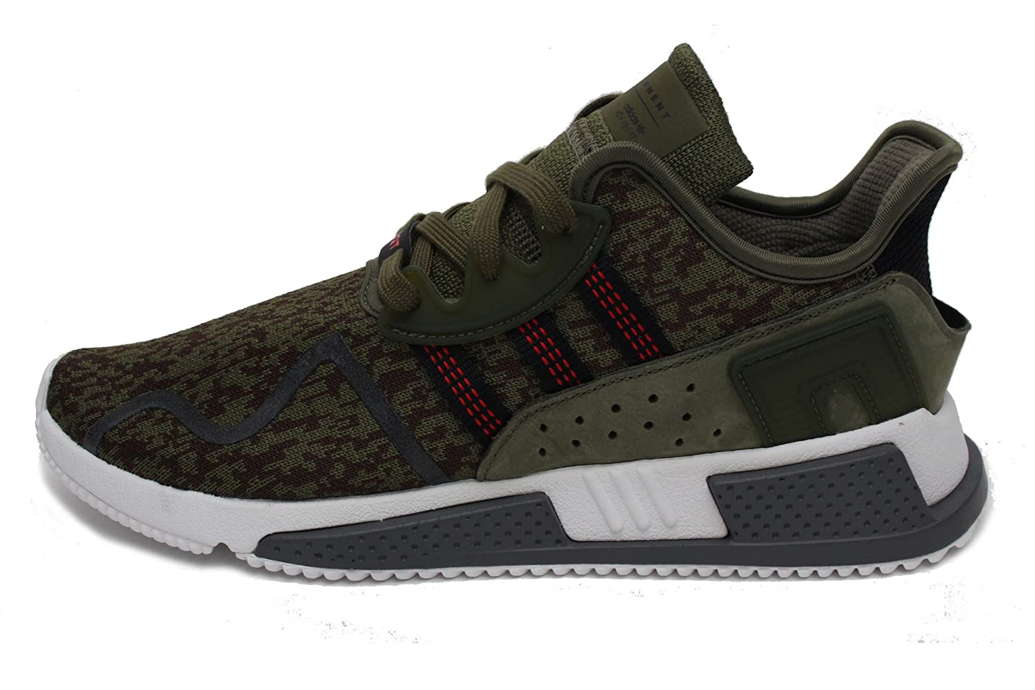 best loved 10a2d f706d Amazon.com   adidas Mens EQT Cushion ADV Athletic   Sneakers Green    Fashion Sneakers