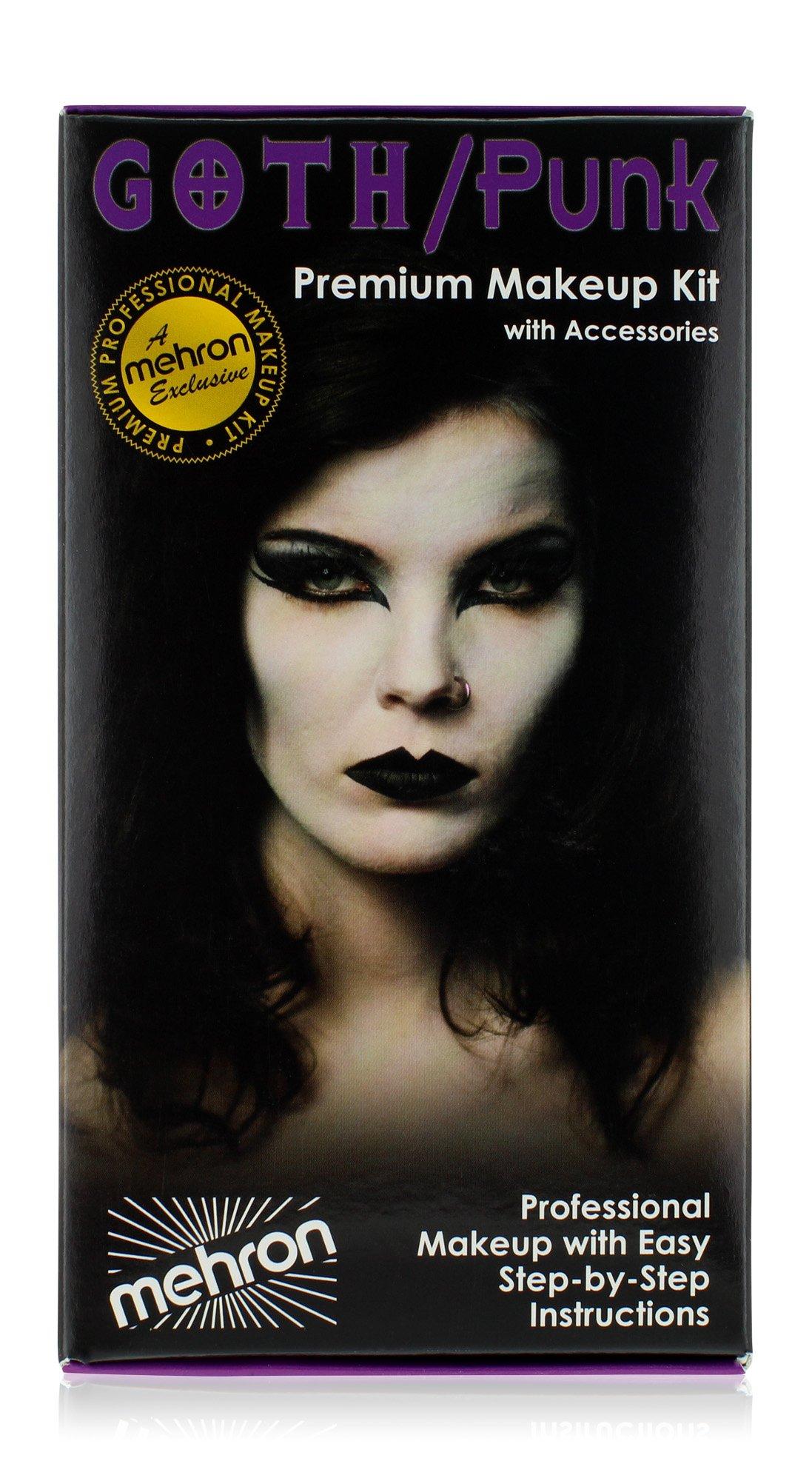 Mehron Makeup Premium Character Kit (Goth/Punk)