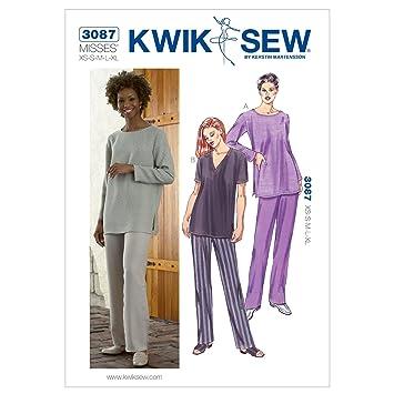 Kwik Sew Mustern K3087 Größe XS – klein – mittel – groß – Extra Groß ...