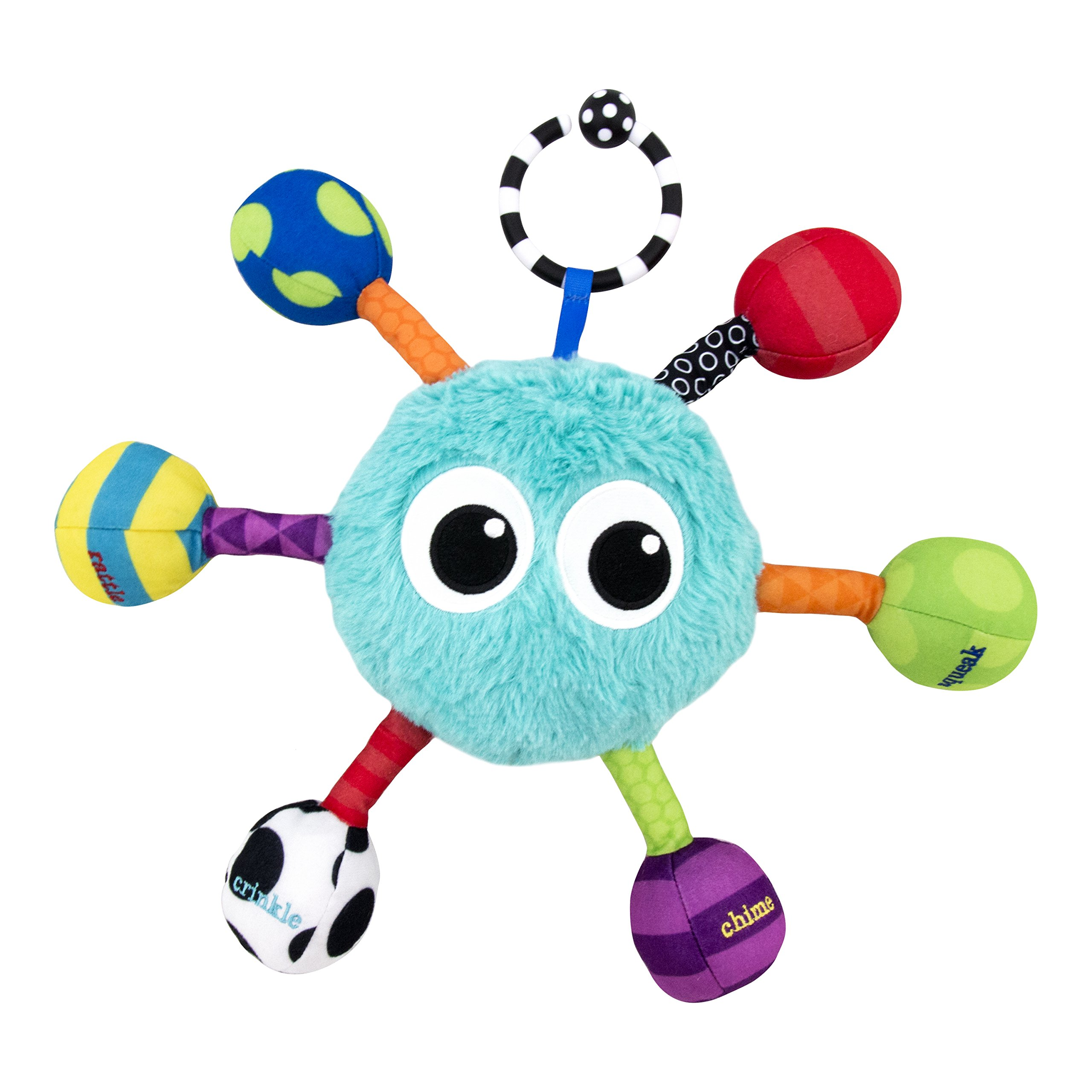 Sassy Grasp and Giggle Guy Toy