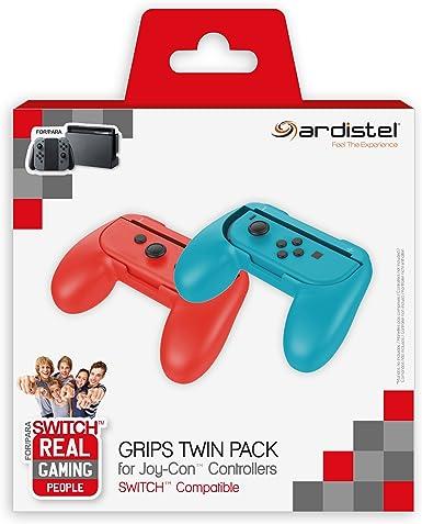Ardistel - Pack de 2 Grips Para Mando Joy-Con (Nintendo Switch): Amazon.es: Videojuegos