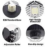 LZHOME 2-PACK LED Garage Lights, 6500Lumens