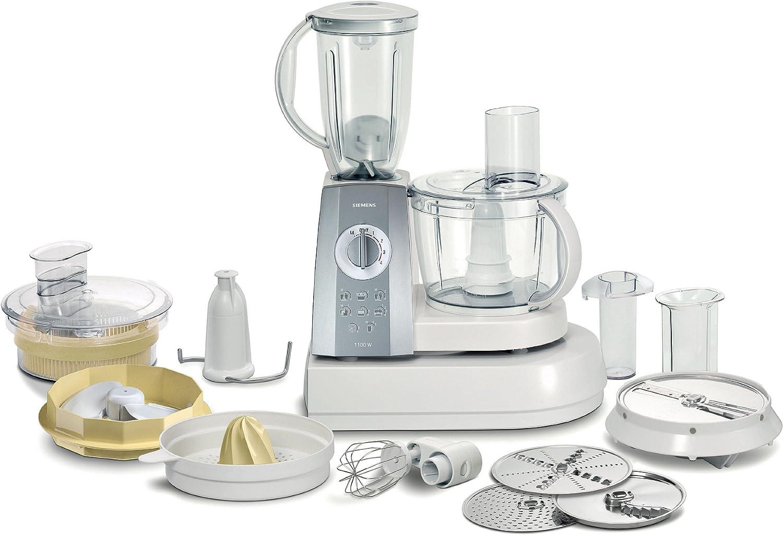 Siemens MK55400 - Procesador de alimentos, Plata, Blanco, 7260 g, 330 mm, 390 mm, 240 mm, 220: Amazon.es: Hogar