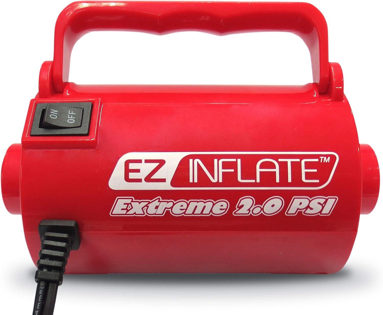 Amazon.com: EZ - Bomba de aire para colchón hinchable de ...