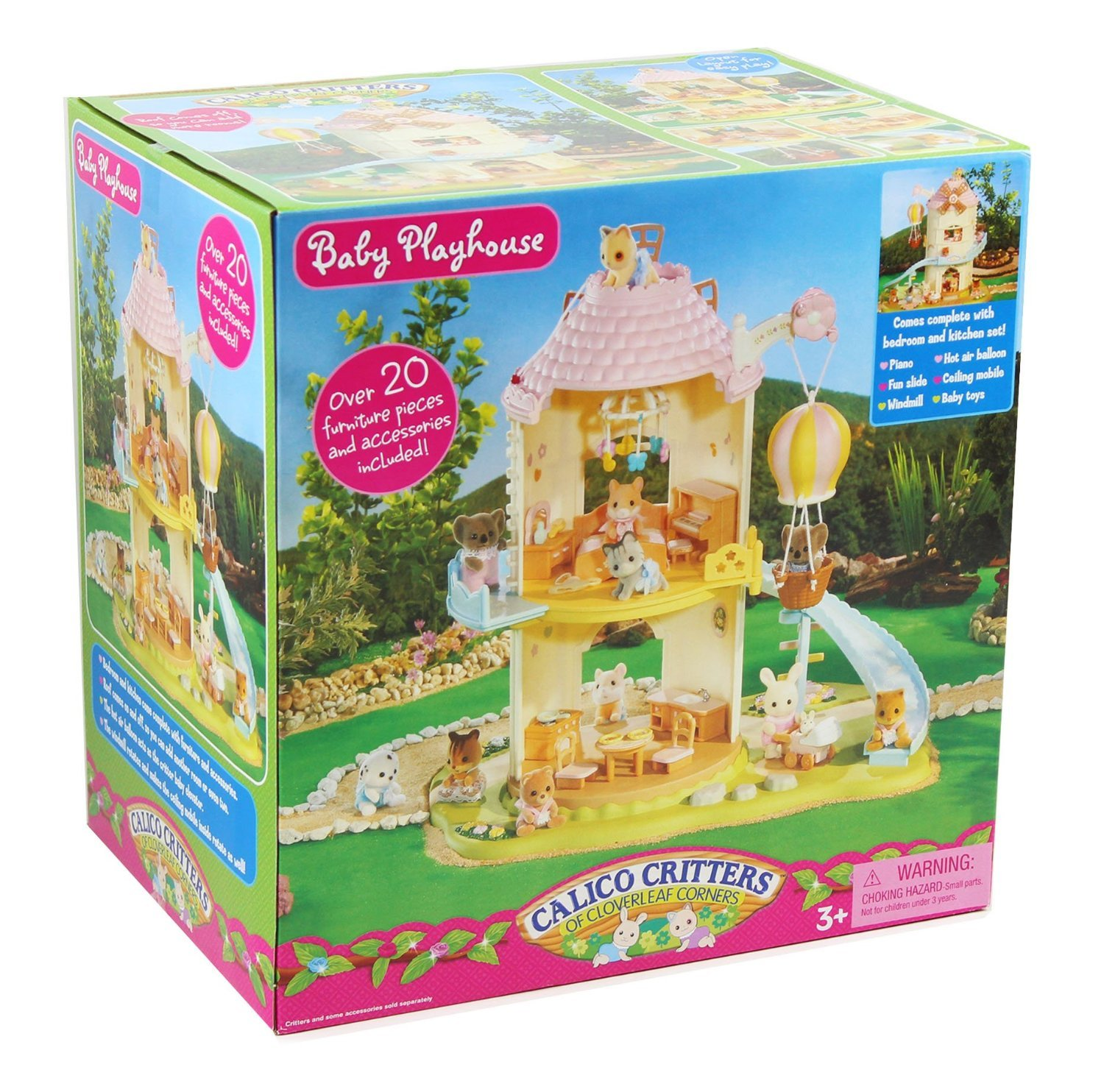 calico critters baby playhouse windmill toys games