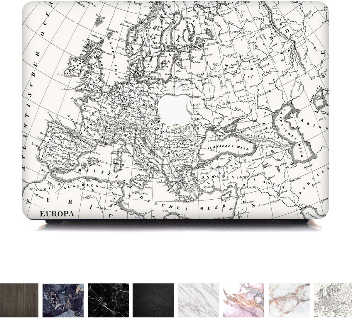 Koru Premium Vintage Map Vinyl Decal Skin Sticker Case Cover for MacBook Pro 15 inch Retina Without CD Drive (Model 1398)