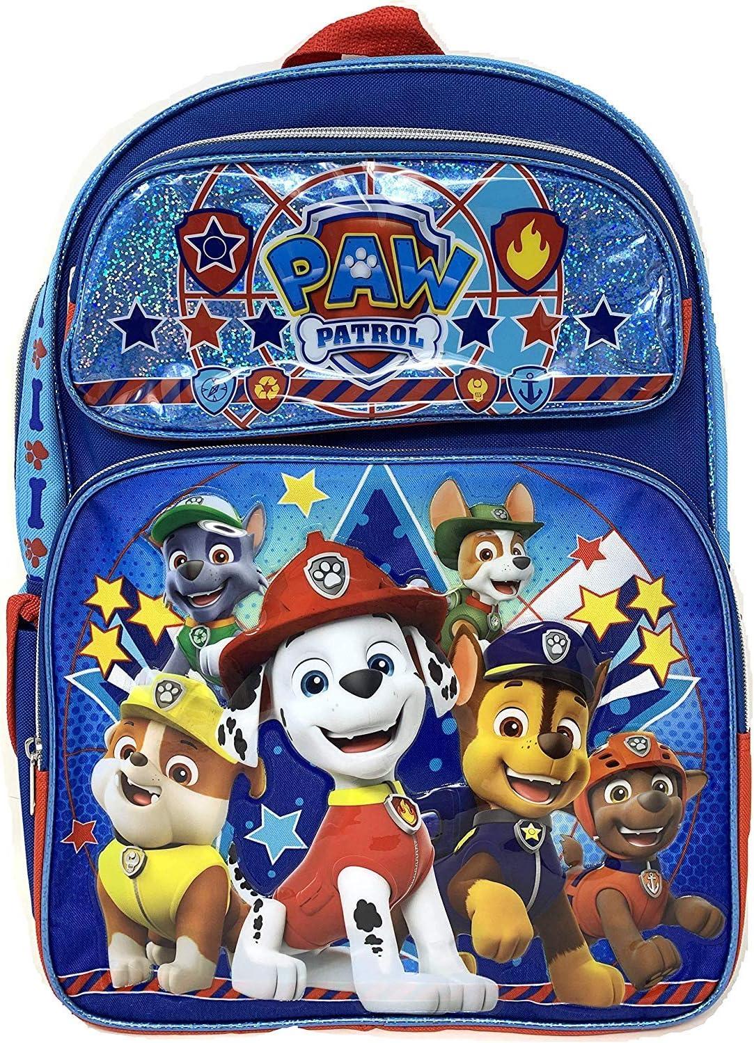 """Nickelodeon New Paw Patrol 16/"""" Rolling School Backpack"""