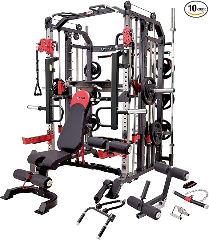 MiM Hercules Smith Machine Leg Press