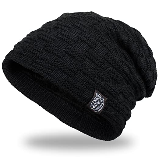 0ea88bf23bc ANVEY Beanie Winter Hats for Women and Men Cap Slouchy Soft Warm Knit Ski  Hat HT21056