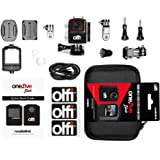 Olfi One.Five Waterproof 4K Black Edition Action Camera (2nd Gen.) with Stabilisation, WiFi Plus Interchangeable and…