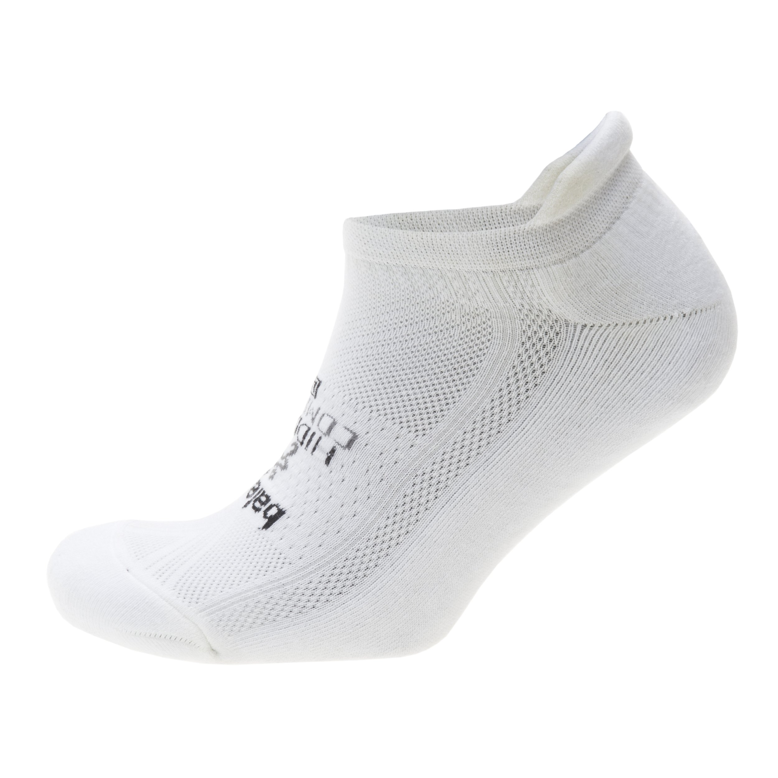 Balega Hidden Comfort No-Show Running Socks for Men and Women (1 Pair), White, Large